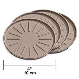 "One  WeatherTech Tan 4"" Coaster NIP"